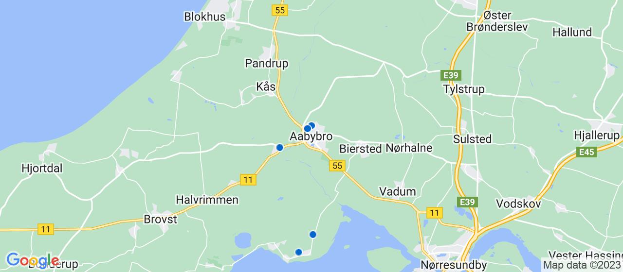 murerfirmaer i Aabybro