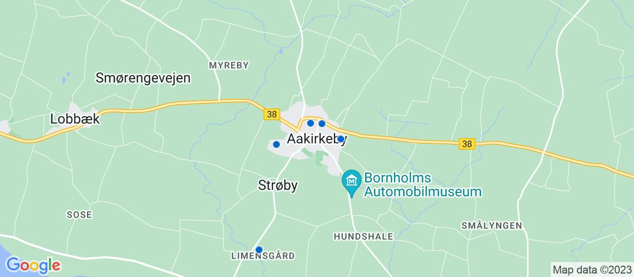 malerfirmaer i Aakirkeby