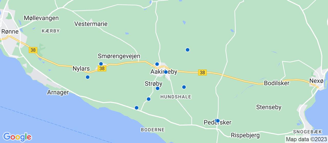 byggefirmaer i Aakirkeby