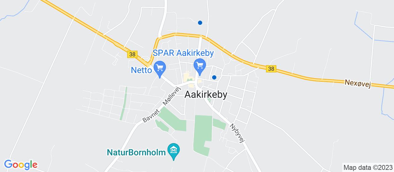 vvsfirmaer i Aakirkeby