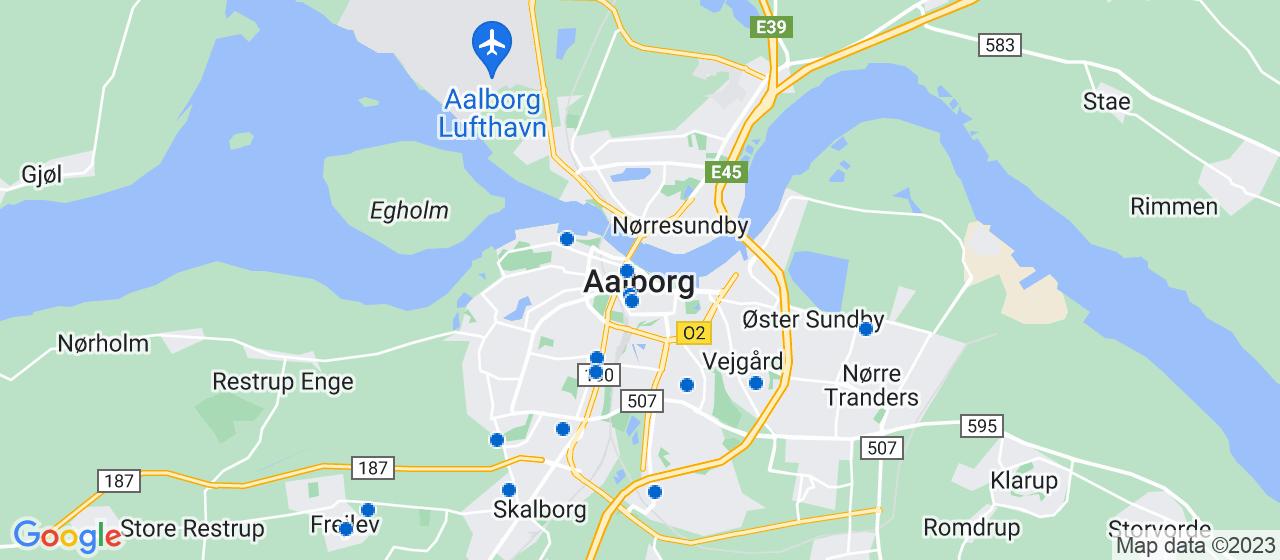 ejendomsservicefirmaer i Aalborg