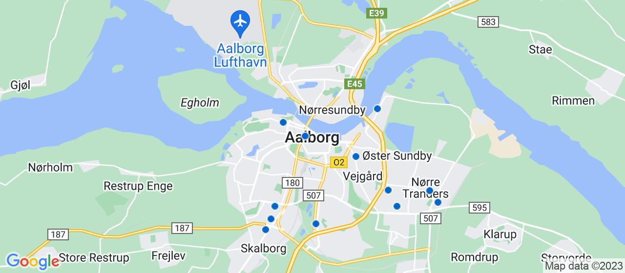 alarmselskaber i Aalborg