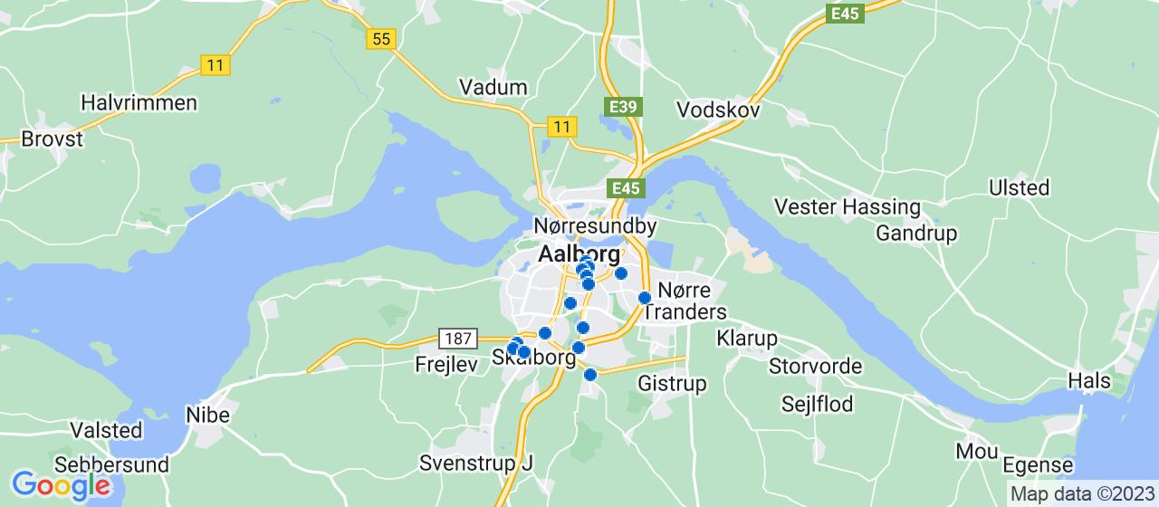 mekaniker firmaer i Aalborg