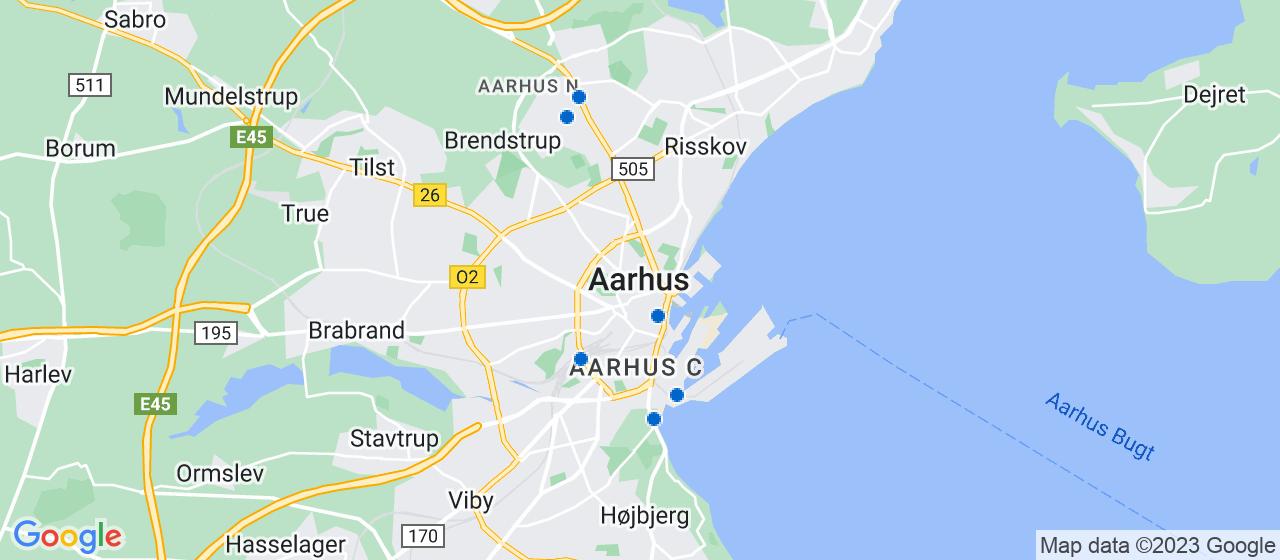 energimærke selskaber i Aarhus