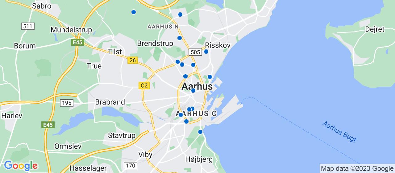sandblæsning firmaer i Aarhus