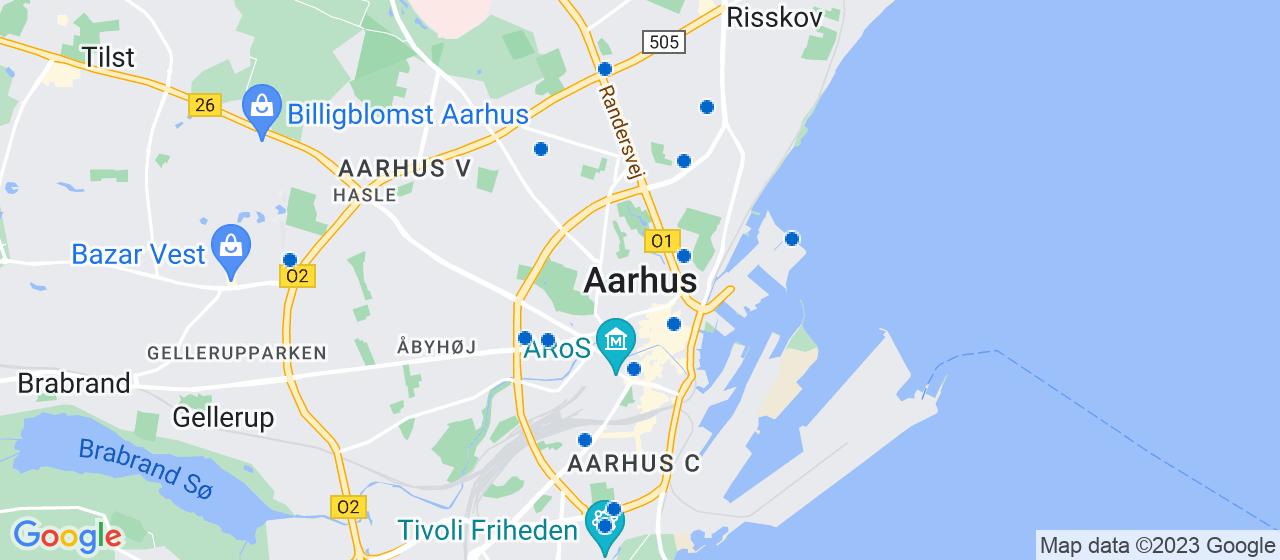 ejendomsservicefirmaer i Aarhus