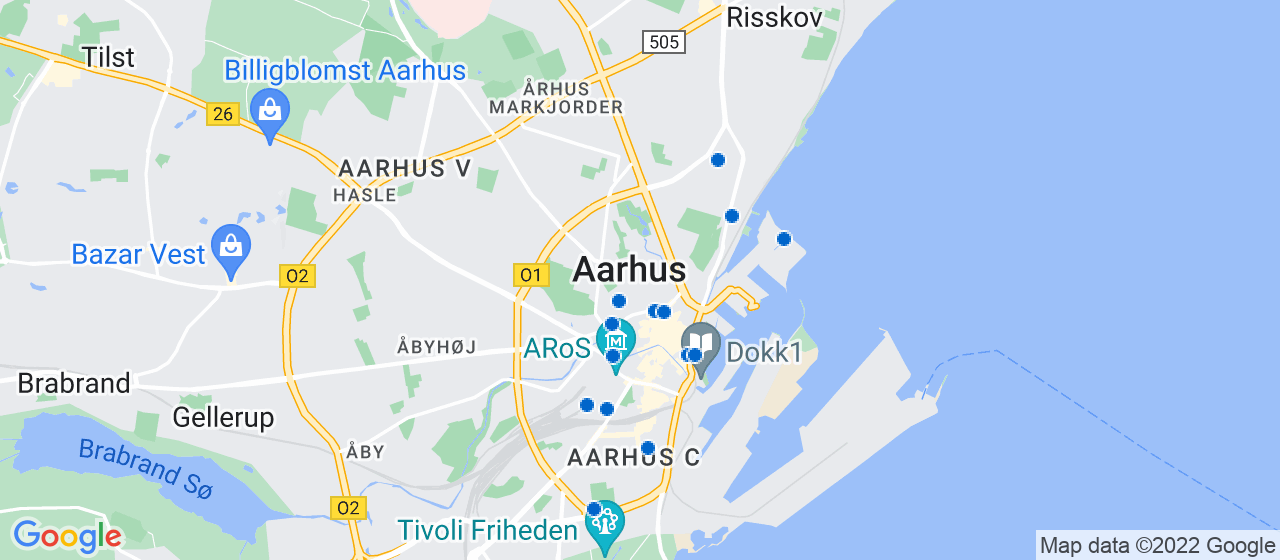 arkitektfirmaer i Aarhus