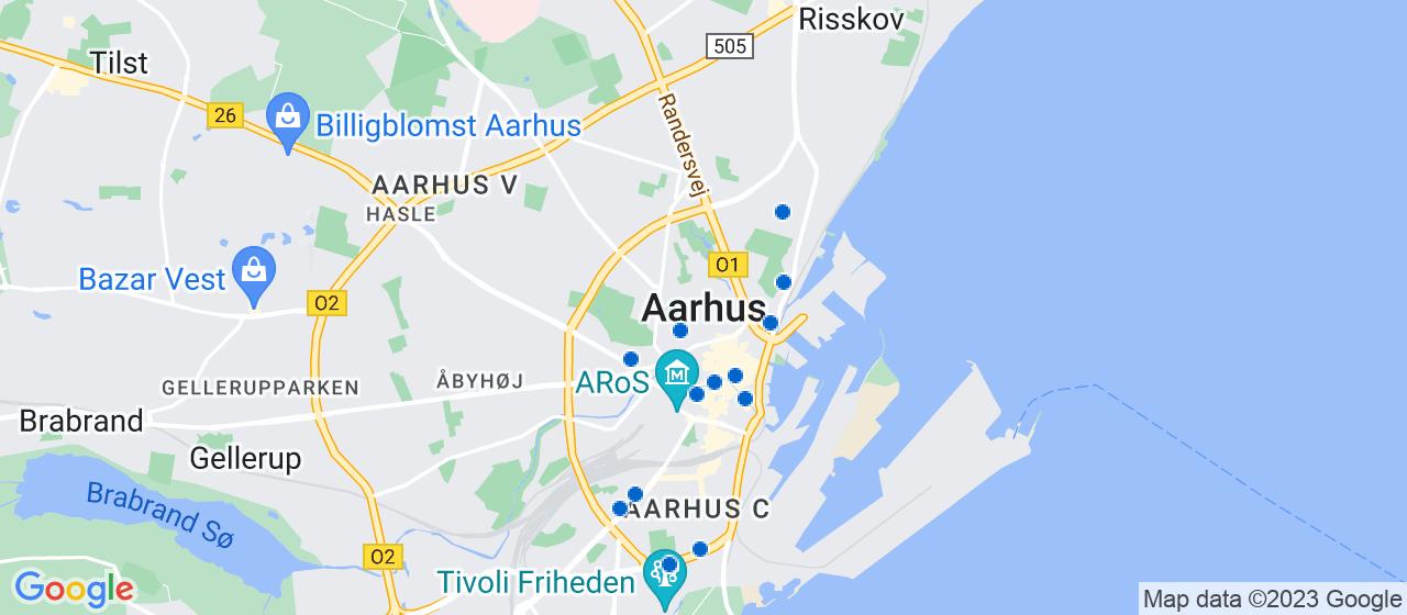 ejendomsmæglerfirmaer i Aarhus