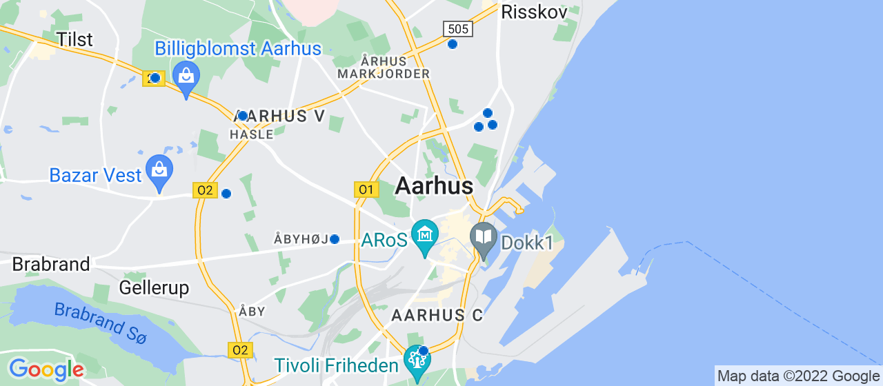 anlægsgartnerfirmaer i Aarhus