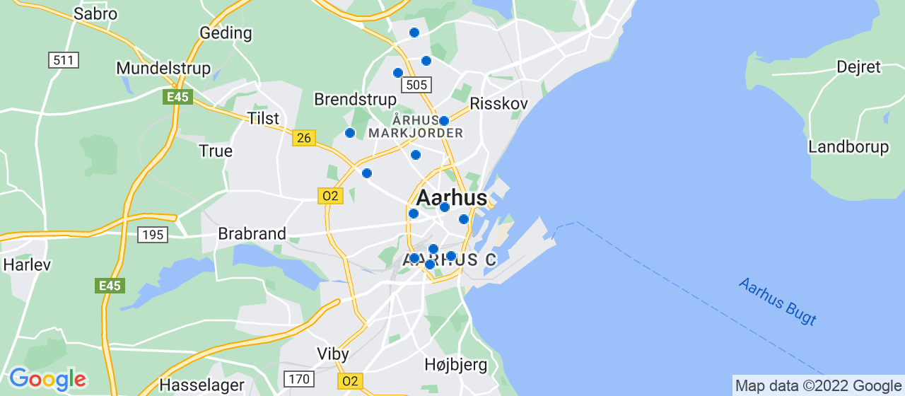 elektrikerfirmaer i Aarhus