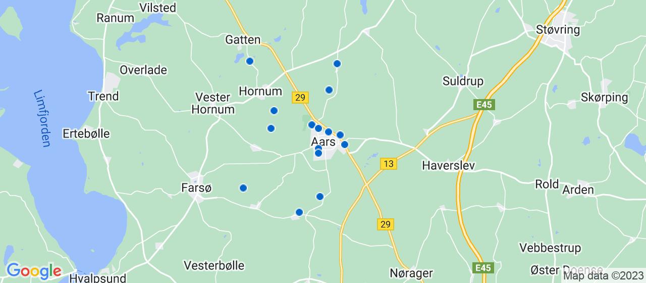 tømrerfirmaer i Aars
