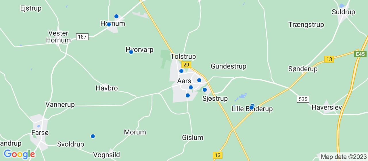 sandblæsning firmaer i Aars