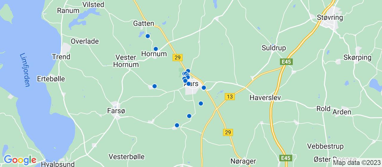 håndværkerfirmaer i Aars