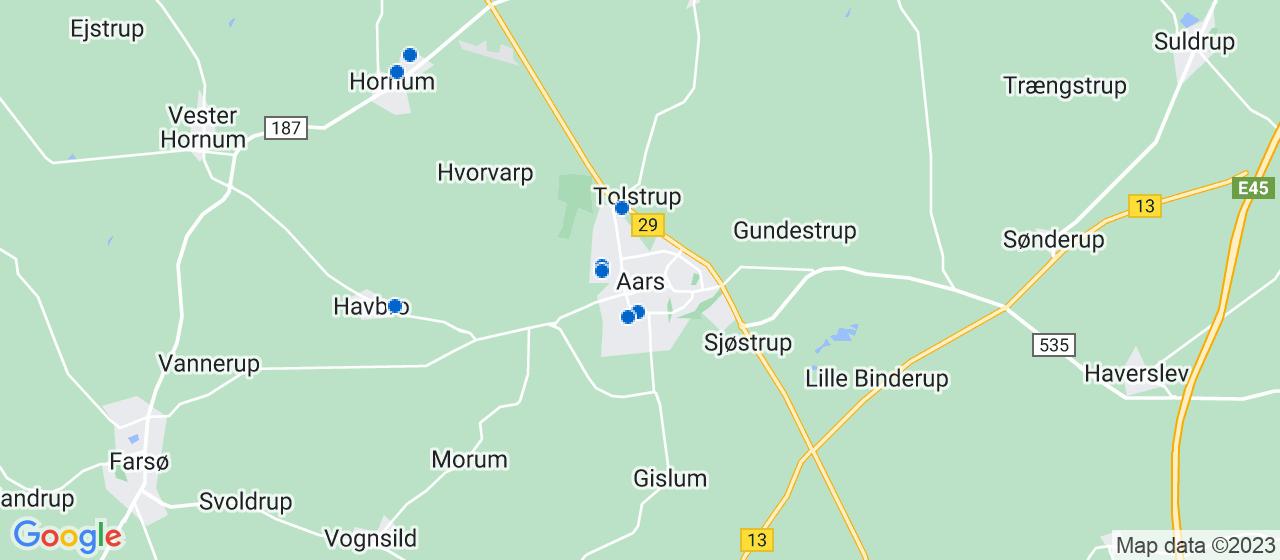 vvsfirmaer i Aars