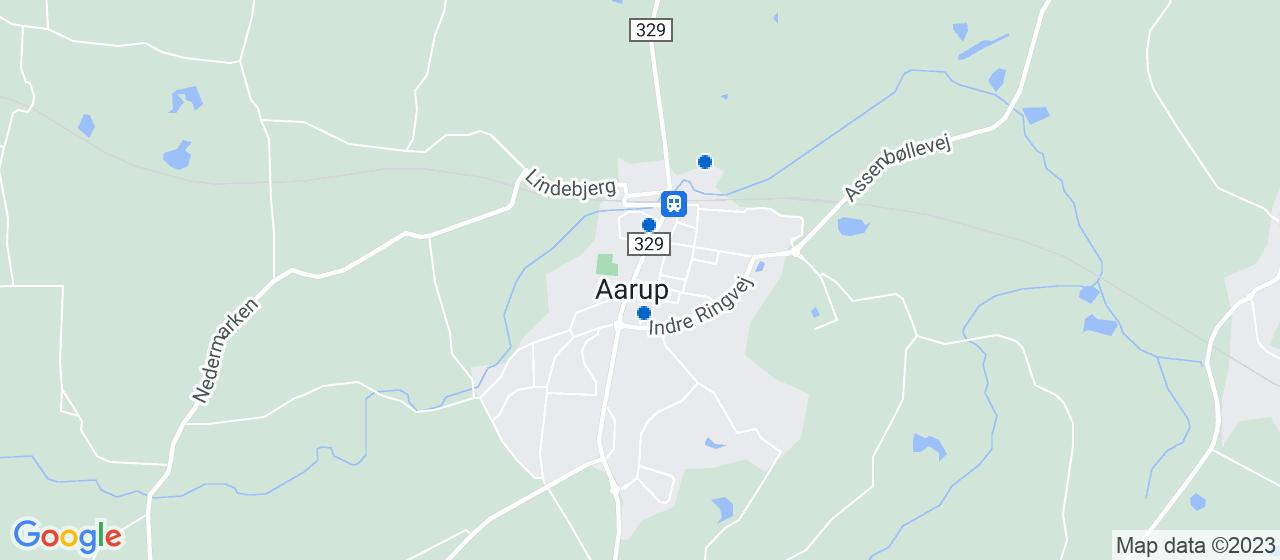 ejendomsmæglerfirmaer i Aarup