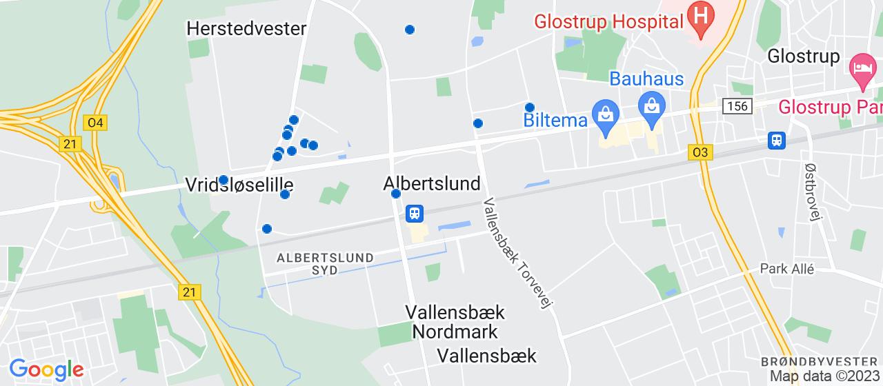 mekaniker firmaer i Albertslund