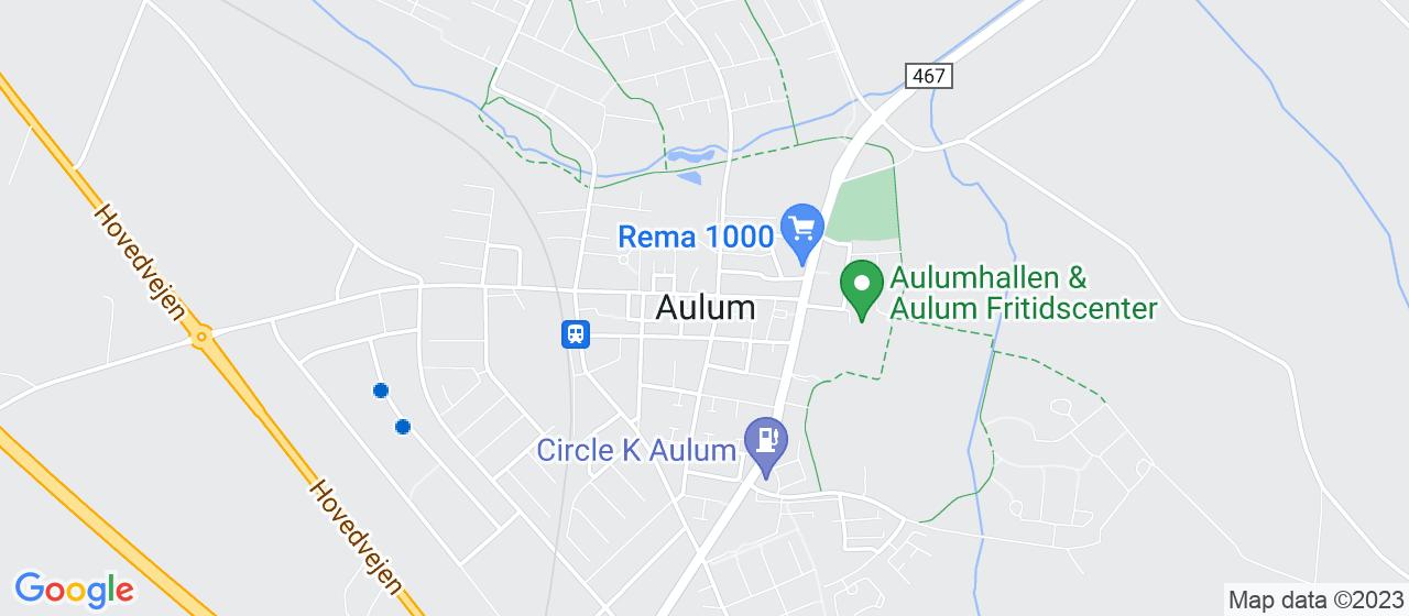 sandblæsning firmaer i Aulum