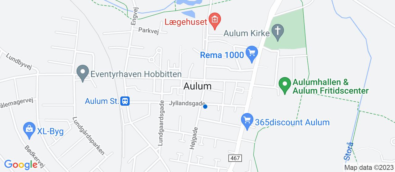 elektrikerfirmaer i Aulum