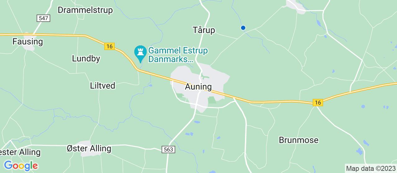 kloakfirmaer i Auning