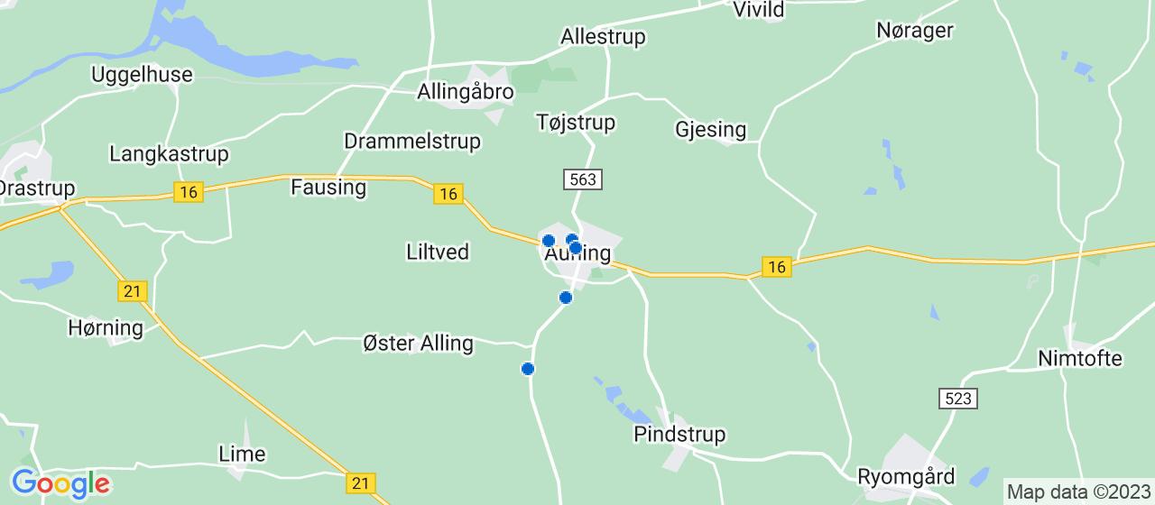 cateringfirmaer i Auning