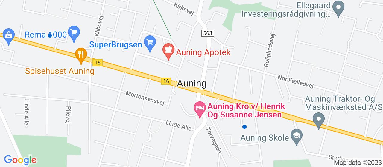 vvsfirmaer i Auning