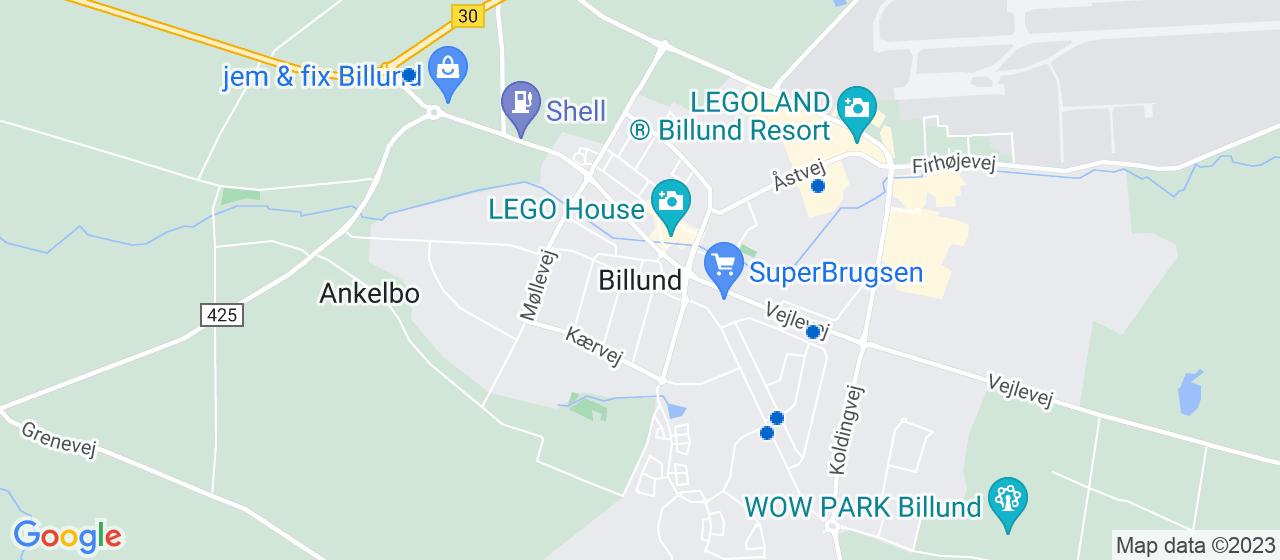 elektrikerfirmaer i Billund