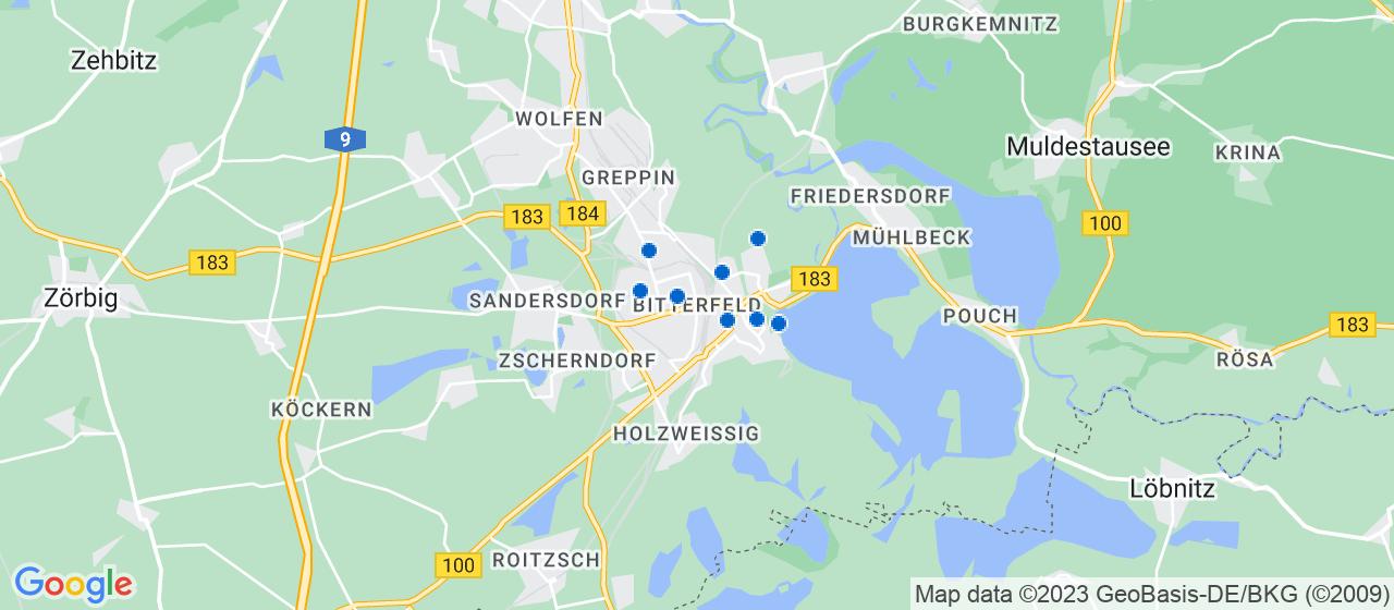 Umzugsunternehmen i Bitterfeld