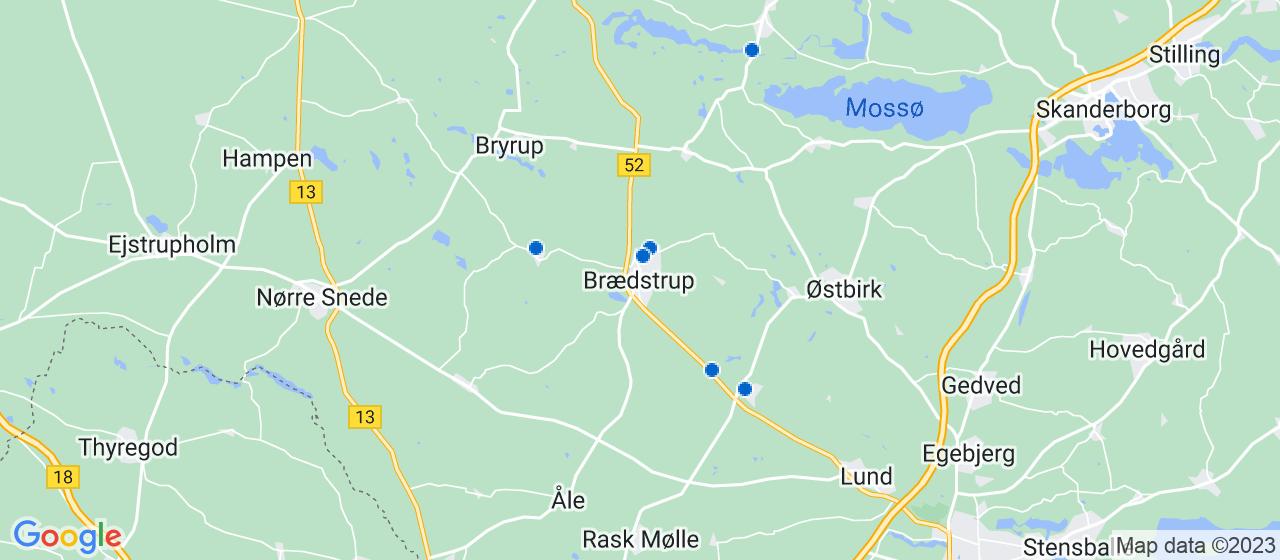 varmepumpe firmaer i Brædstrup