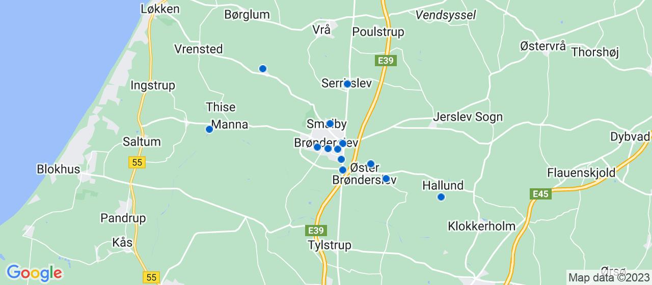 håndværkerfirmaer i Brønderslev