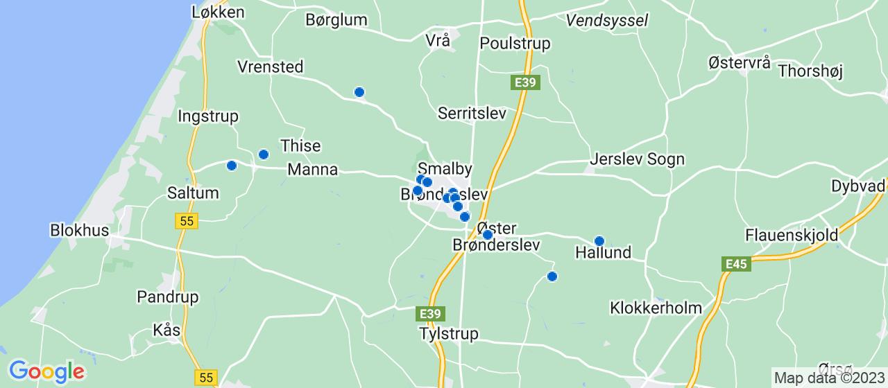 varmepumpe firmaer i Brønderslev