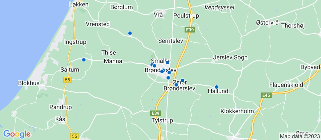 elektrikerfirmaer i Brønderslev