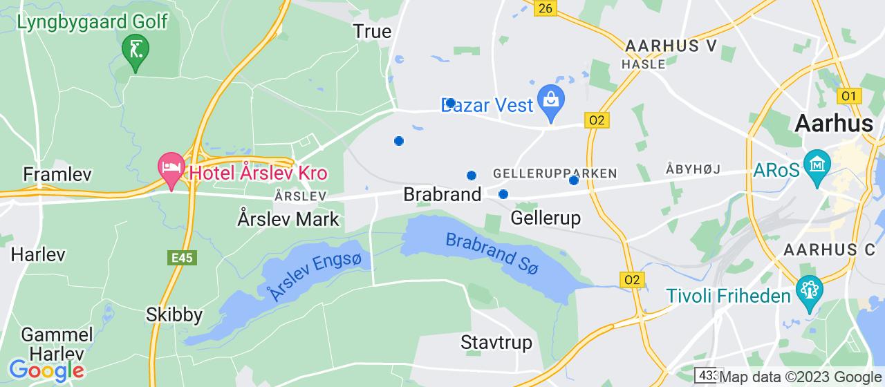 rengøringsfirmaer i Brabrand