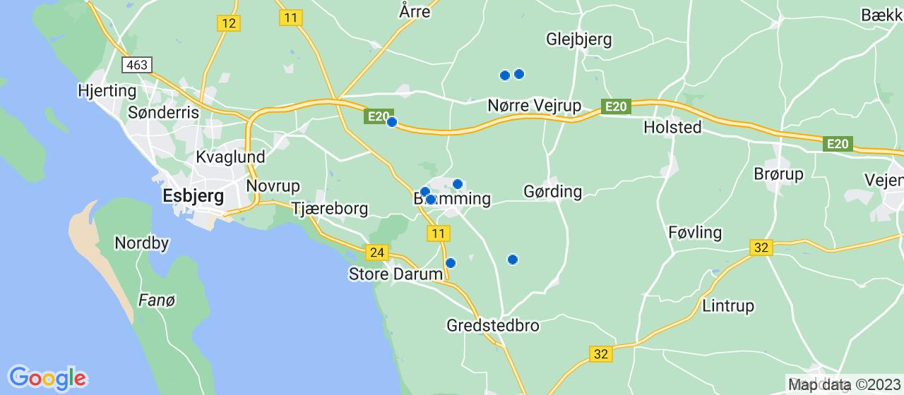 kloakfirmaer i Bramming
