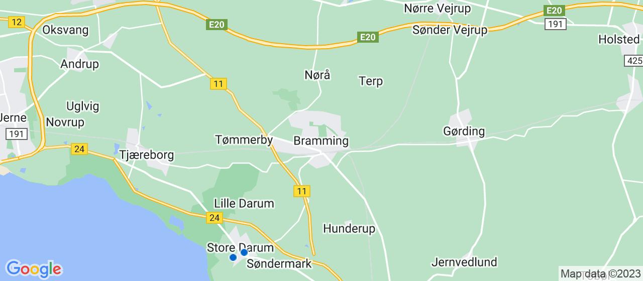 flyttefirmaer i Bramming