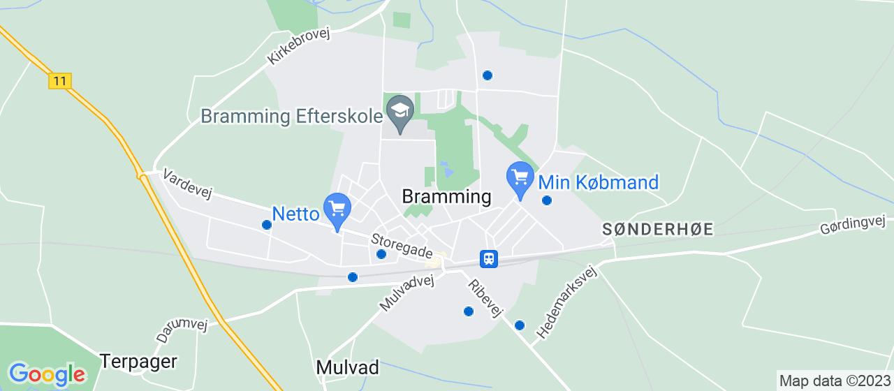 vvsfirmaer i Bramming