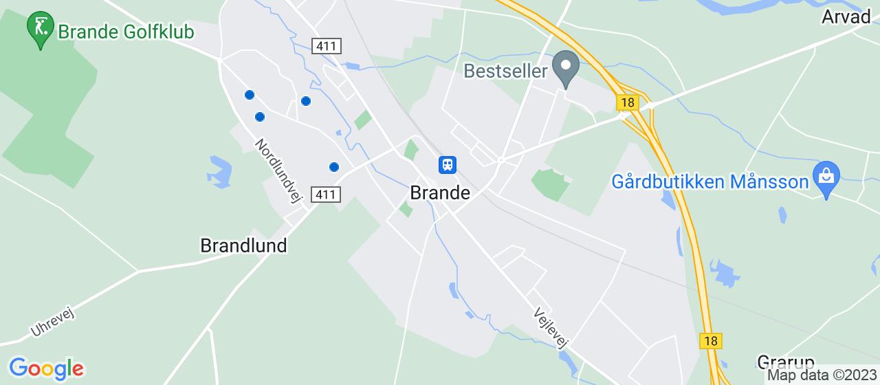 arkitektfirmaer i Brande
