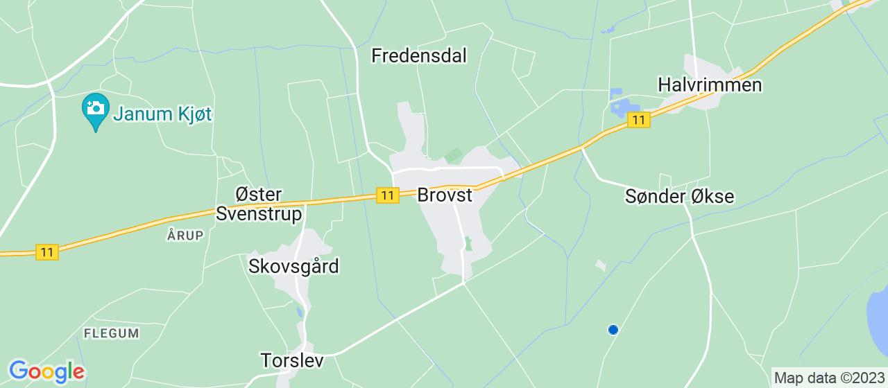 brolægger firmaer i Brovst