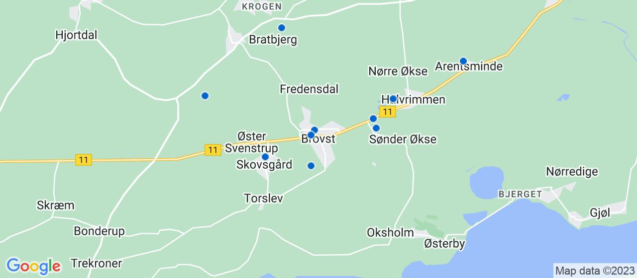 håndværkerfirmaer i Brovst