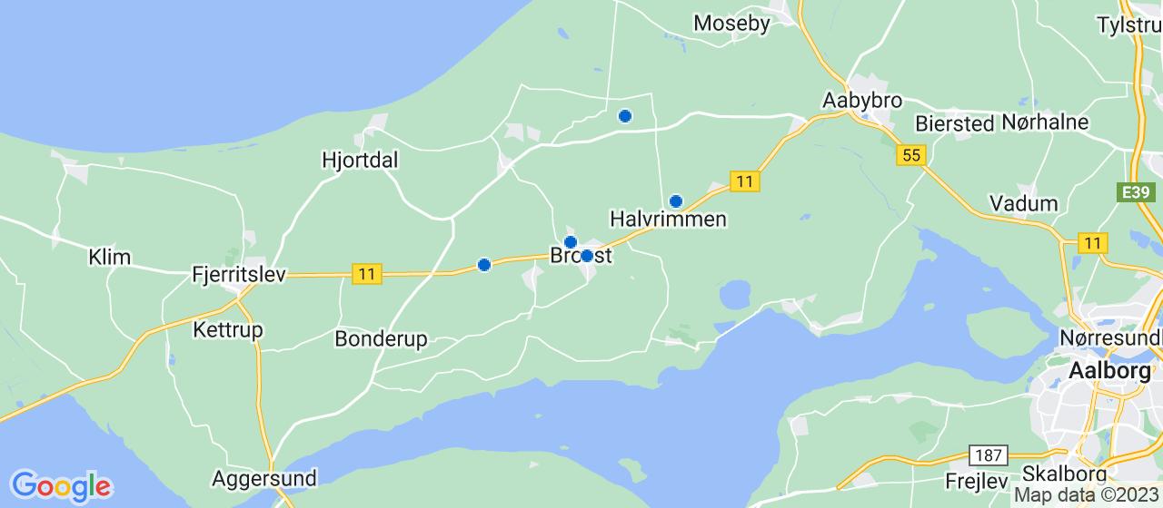 elektrikerfirmaer i Brovst