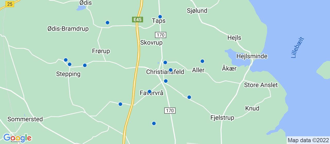 byggefirmaer i Christiansfeld