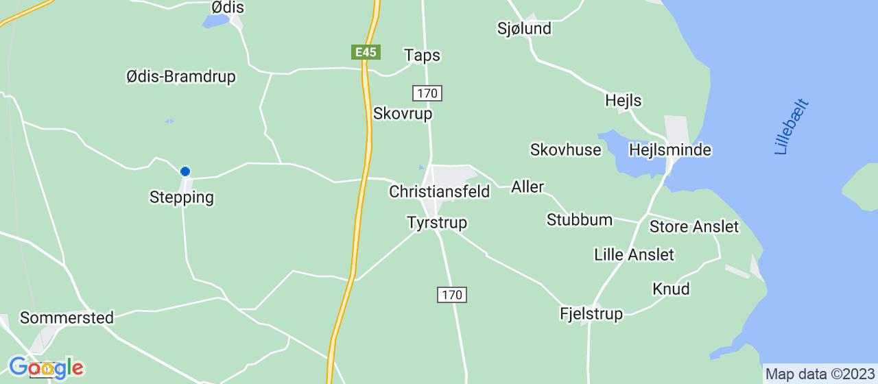energimærke selskaber i Christiansfeld