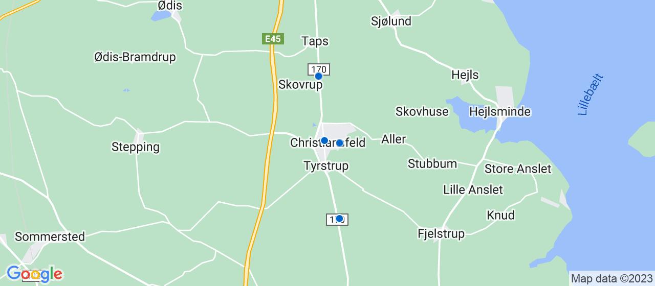 cateringfirmaer i Christiansfeld