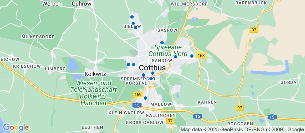 Umzugsunternehmen i Cottbus
