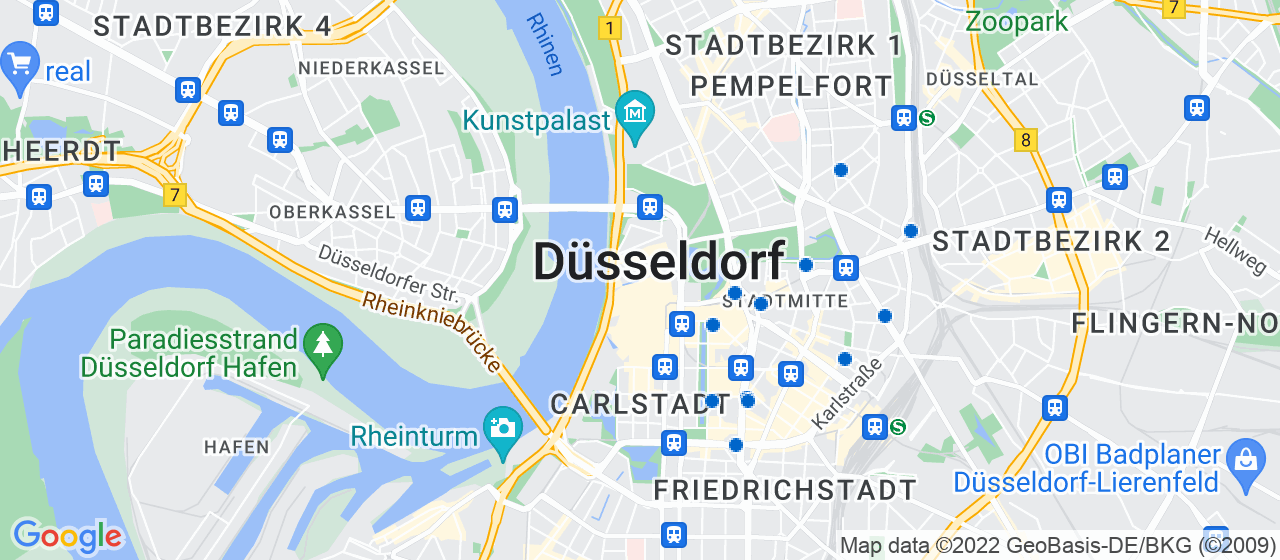 Umzugsunternehmen i Düsseldorf