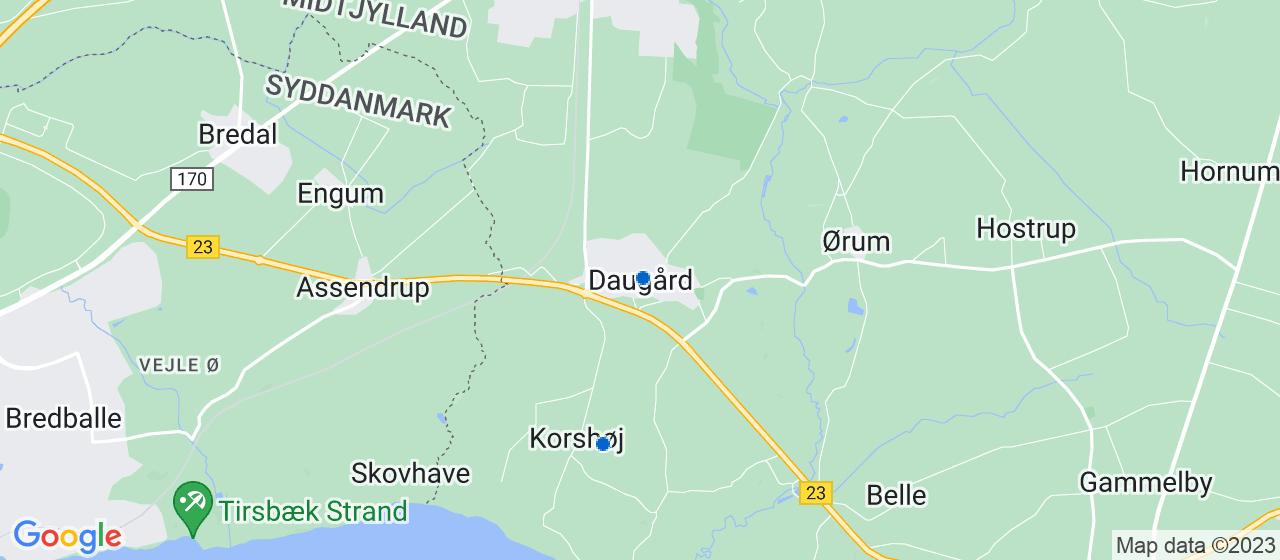 mekaniker firmaer i Daugård