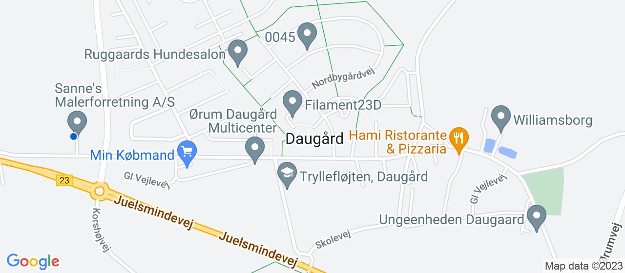 malerfirmaer i Daugård
