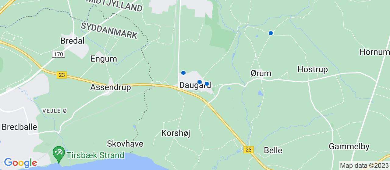 byggefirmaer i Daugård