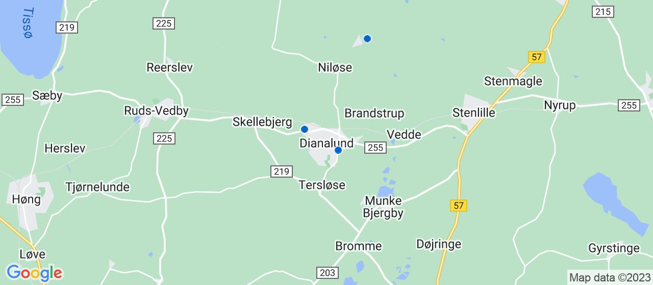 anlægsgartnerfirmaer i Dianalund
