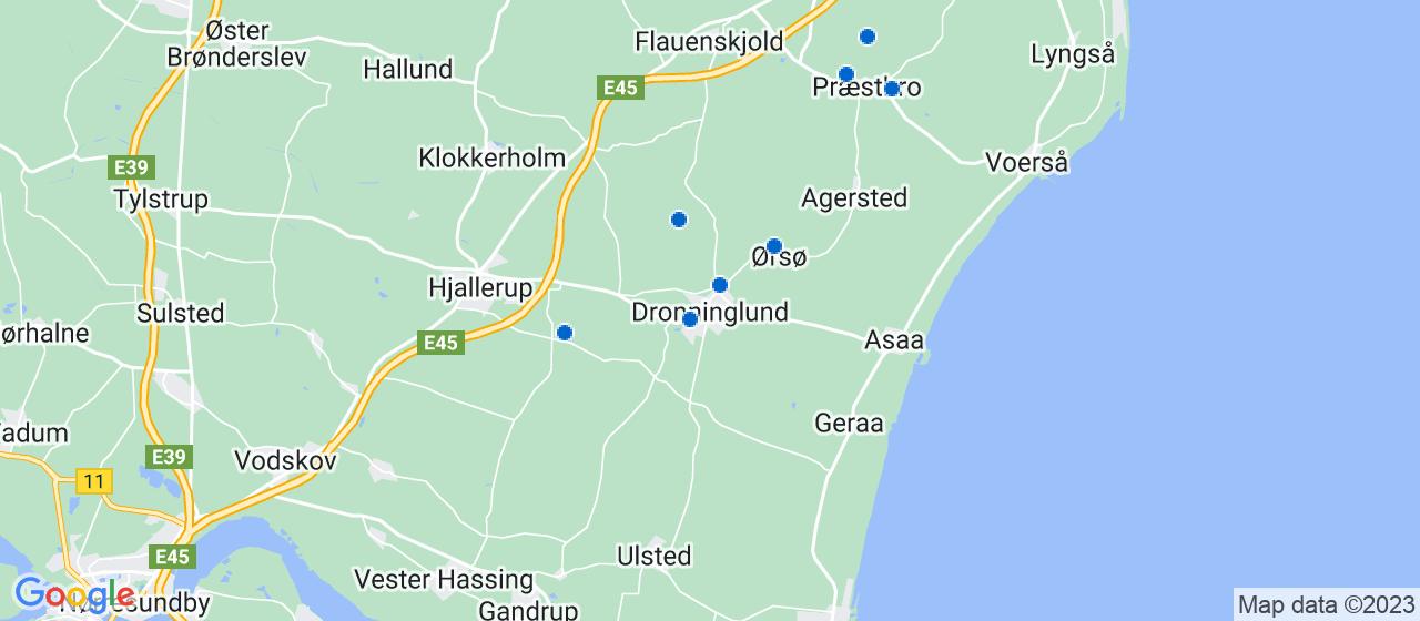 malerfirmaer i Dronninglund