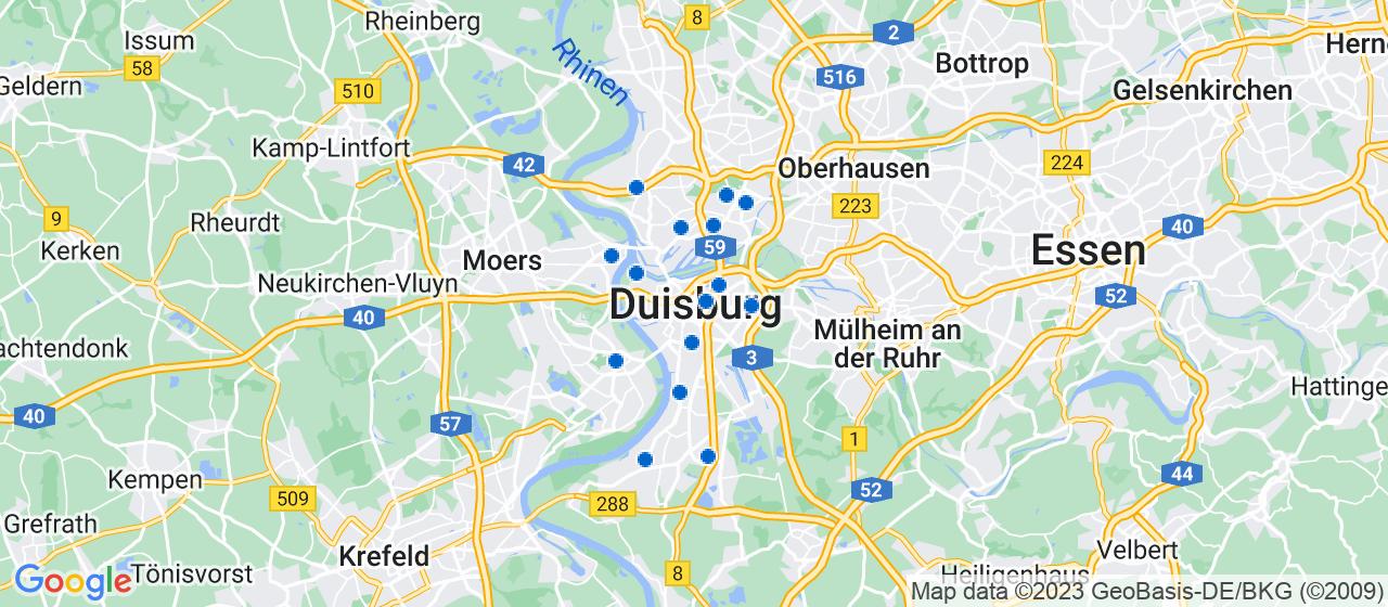 Umzugsunternehmen i Duisburg